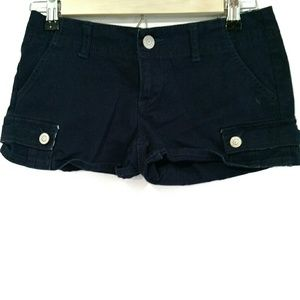 Aeropostale Stretch Navy Shorts